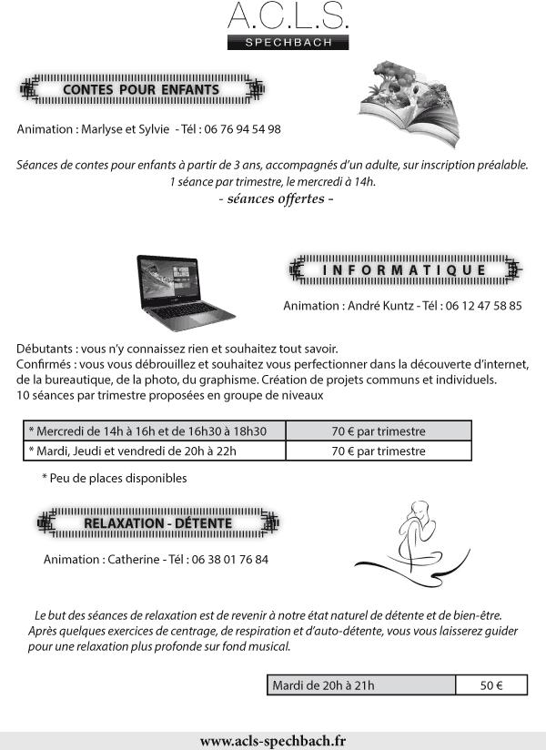 programme de l'ACLS 2017 - 2018, page 6