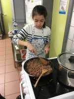 Cuisson de la viande pour le Parmentier