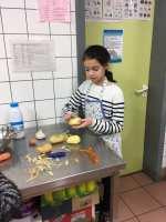 Purée = pommes de terre à éplucher