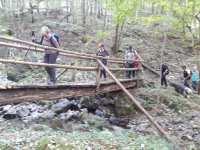 Passage sur ruisseau