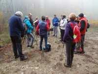 Brouillard au départ de la rando des étangs