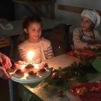 Lucie fête ses 9 ans