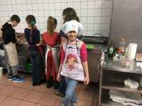 Chef Zoé, fidèle au poste ;)