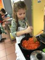 Cuisson des carottes par Lucie