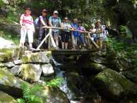 Le groupe au bord de la Wormsabachruntz
