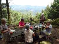 """Pique-nique à """"La Roche Marchal"""" altitude 1020 m"""