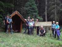 20 août : halte à la chapelle des bûcherons