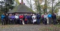 12 nov 19: le groupe devant l'abri du Rehbrunnel