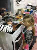 cuisson de la viande hachée